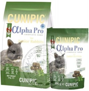 Cunipic - Alpha Pro Królik Junior 500g