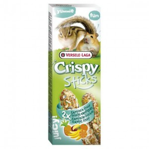 Versele Laga - Crispy Sticks Hamster&Squirrels Exotic Fruit (110g)