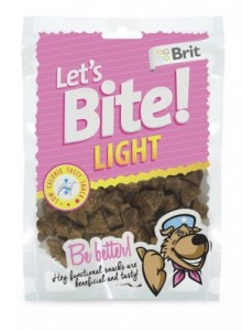 Brit - Let's Bite Dog Light 150g