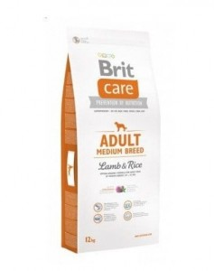 Brit - Care Adult Medium Breed lamb & rice 3 kg