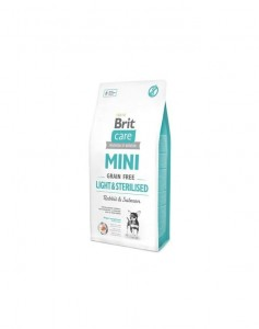 Brit - Care Grain Free Mini light & sterilised 2kg