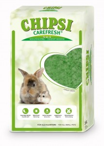 JRS - Chipsi CareFresh Forest Green 50L/4 kg