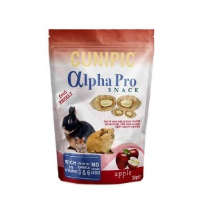 Cunipic - Alpha Pro Snack Apple 50g