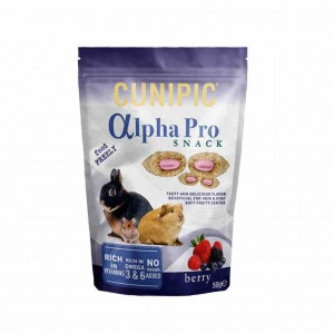 Cunipic - Alpha Pro Snack Berry 50g