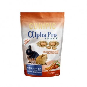 Cunipic - Alpha Pro Snack Carrot 50g
