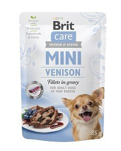 Brit - Care Mini Pouch Venison 85g