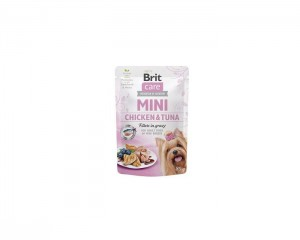Brit - Care Mini Pouch Chicken&Tuna 85g