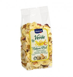 Vitakraft - Vita Verde Nature Fruit Banan/Jabłko 100g