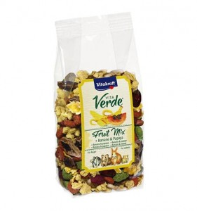 Vitakraft - Vita Verde Nature Fruit Banan&Papaya 100g