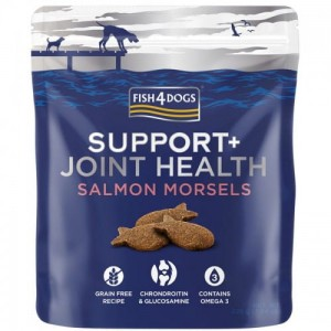 Fish4Dogs Support+ Joint Health Salmon Morsels na Stawy 225g