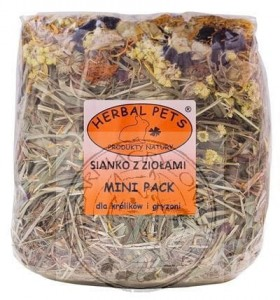 Herbal Pets - Sianko z Ziołami MINI PACK 300g