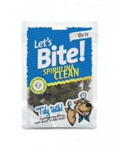 Brit - Let's Bite Dog Spirulina Clean 150g