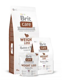 Brit - Care Weight Loss Rabbit & Rice 3kg