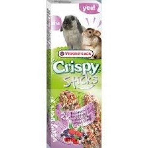 Versele Laga -  Crispy Sticks-Rabbits & Chinchillas Forest Fruit (110g)