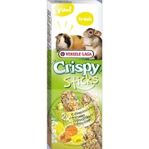Versele Laga - Crispy Stick - Guinea Pigs & Chinchillas Citrus Fruit (110g)