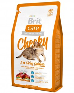 Brit - Care Cat Cheecky I'm Living Outdoor 400g