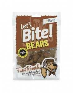 Brit - Let's Bite Dog Bears 150g