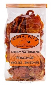 Herbal Pets - Chipsy Pomidor 40g