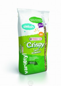 Versele Laga -  Crispy Pellets Chinchillas&Degus 25kg