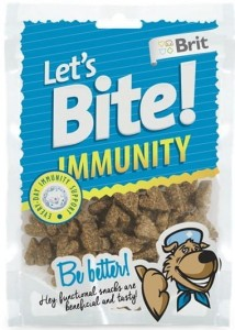 Brit - Let's Bite Dog Immunity 150g