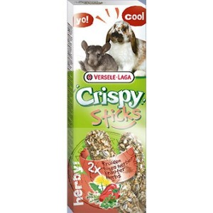 Versele Laga -  Crispy Sticks-Rabbits & Chinchillas Herbs (110g)